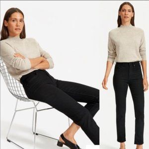 Everlane Black Ankle high rise Jeans stretch 27